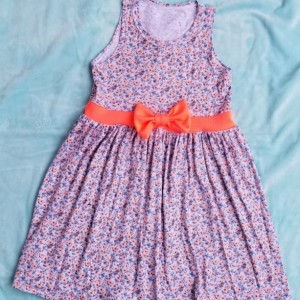 Sunny Floral Toddler Dress