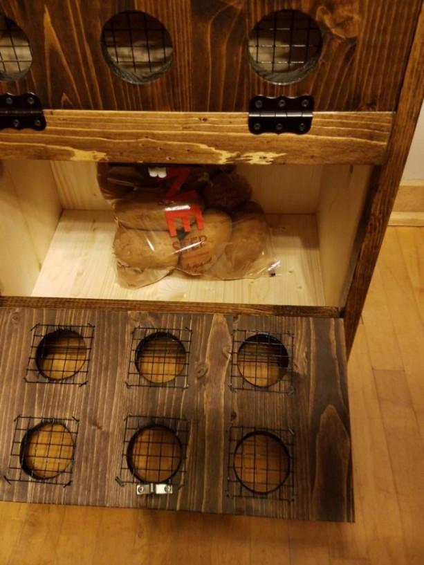 Potato Onion Bin Ships Within 10 Days Vegetable Bin