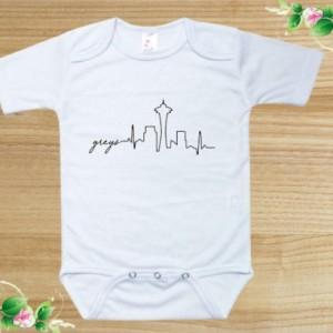 Greys Anatomy Onesie bodysuit newborn 0-3m, 3-6m, 6-9m, 12 m 18m 24m baby shower gift bodysuit long sleeve / Toddler 2t 3t 4t 5t