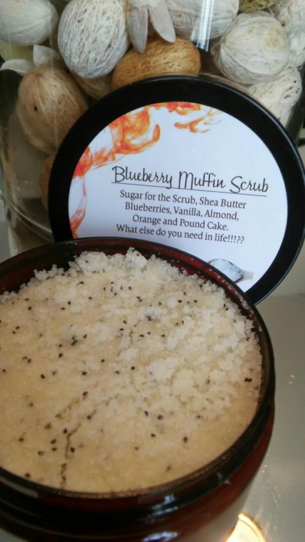 Blueberry Muffin Scrub