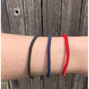 Red Tibetan Buddhist Lucky Rope Bracelet, Meditation Bracelets For Women Men, Handmade Knots Rope Buddhist Bracelet, Yoga Bracelet, Prayer