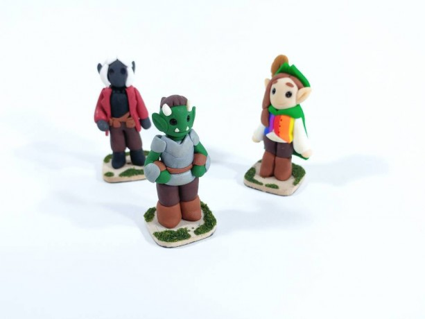 Customizable Tabletop Game Figure