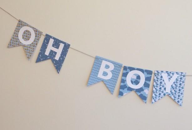 oh boy oh boy banner baby shower banner baby shower decoration baby boy
