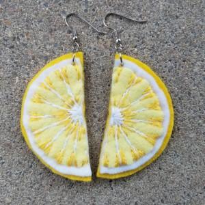 Felt Fruit