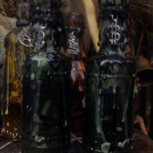 Money Drawing Witches Bottle