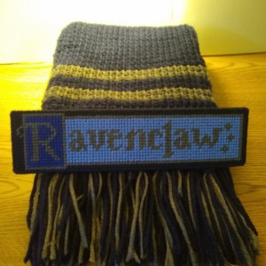 Harry potter Ravenclaw Scarf and bookmark!
