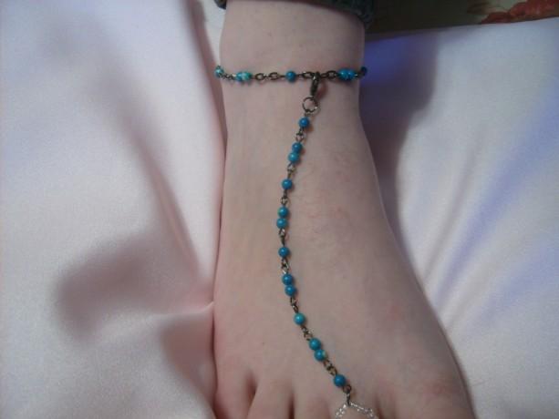 Sky Slave Anklet, Barefoot Sandal