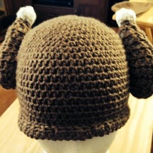 Crochet Turkey Drumstick Hat