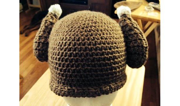 Crochet Turkey Drumstick Hat