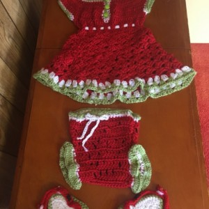 Watermelon dress set