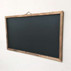 Large Rustic Thin-Framed Chalkboard 48x28""