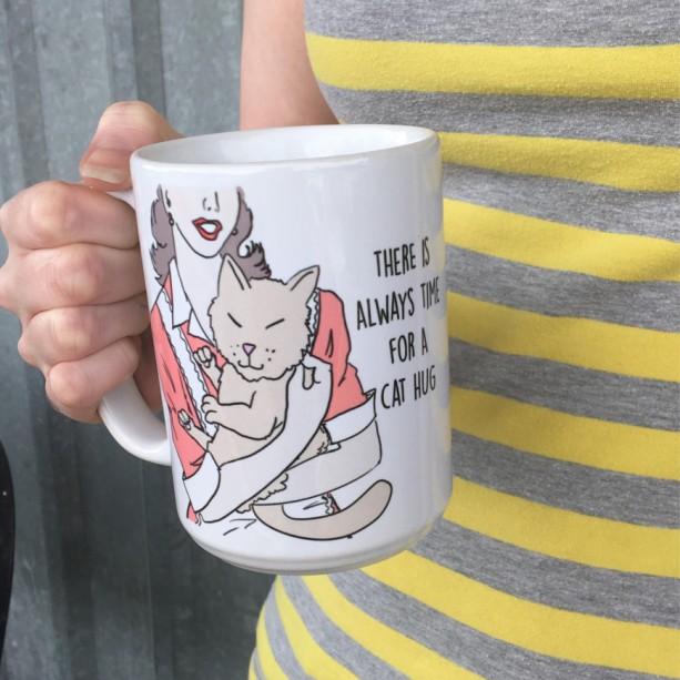 Funny Mom Cat Mug