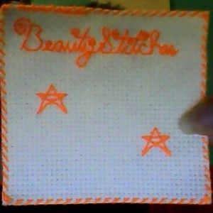 BeautyStitches Coaster Designs: Stars