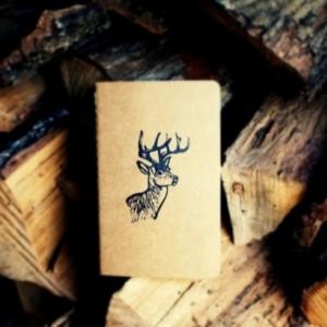 White-Tailed Stag Buck Deer Notebook Moleskine Journal