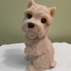 Handmade Soap  Brown Dog Yorkie, Schnauzer, Shiatsu ,Carrien