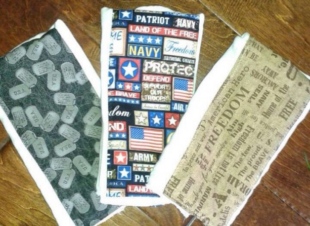 Military Armed forces patriotic baby burp cloth set premium diaper marines coast guard army national guard air force navy turley