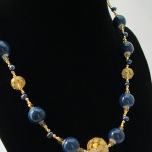 Smarty Pants Beaded Necklace