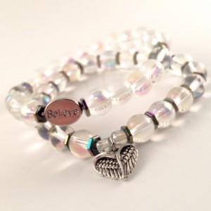 Angel crystal bracelets