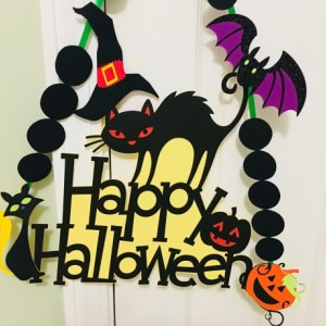 HALOOWEEN DOOR HANGING