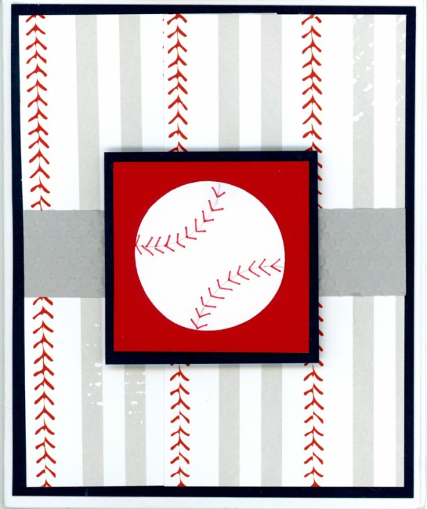 Baseball greeting cards - set of 4 (2 birthday, 1 thank you & 1 blank)