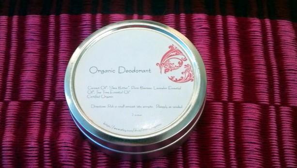 Organic Deodorant - Lavender & Tea Tree (Aluminum Free)