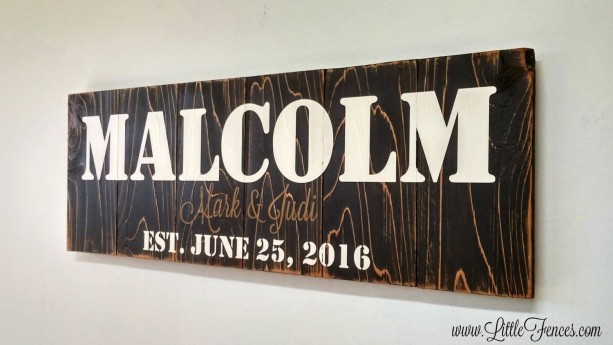 Family Established Wood Sign | Farmhouse Decor | Family Wall Sign | Rustic Name Sign | Cabin Signs | Last Name Wood Sign | Established Sign