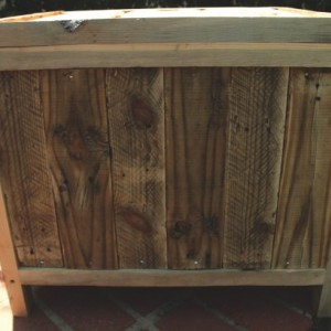 Storage Chest, Reclaimed pallet wood, Vintage style, Rustic chest, Blanket chest, Vintage chest, medium wooden chest, hope chest, toy chest