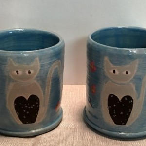 Love My Cat Mugs