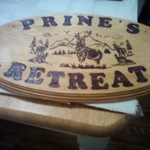 New PERSONALIZED Wood sign plaque CUSTOMIZED with YOUR DESIGN SIZE SHAPE and PRICE used for BUSINESS or personal. Can be hung indoors or out