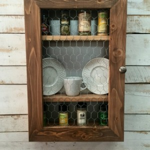 Spice Rack Cabinet-Wooden Spice Rack Cabinet-Spice Organizer
