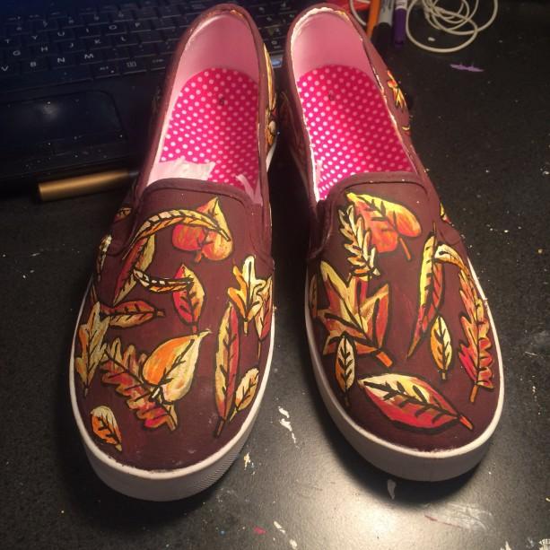 Autumn Leaves Shoes