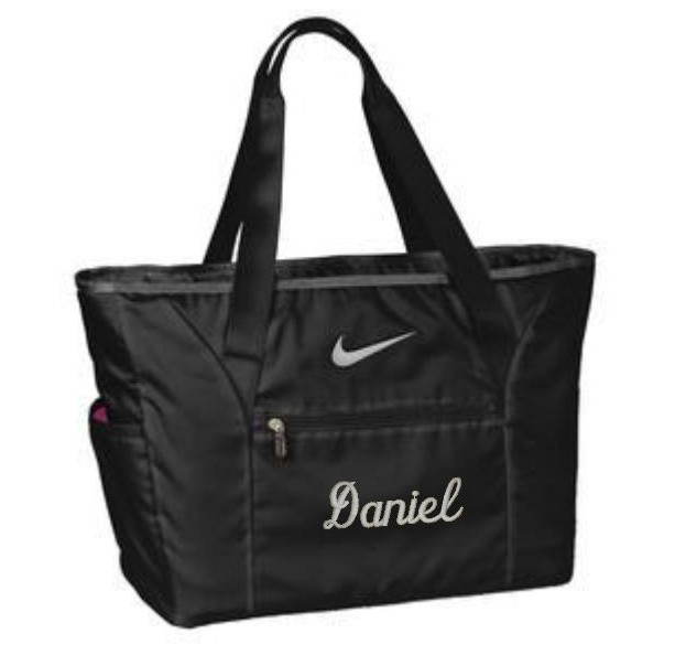 a789f197310 ... Nike Tote Bag, Laptop Bag, Personalized Large Tote Bag, Padded Laptop  Sleeve, ...