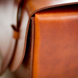 Leather Dopp Kit - Saddle Tan