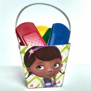 Bandage Doc McStuffins Crayon Loot / Goodie bag Party Favors Set of 10