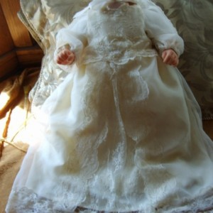 Baptism/Christening Gown - Amanda