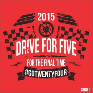 DRIVE FOR FIVE FOR THE FINAL TIME  (TEE)