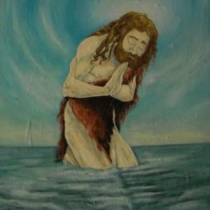 John The Baptist - Original Oil Painting
