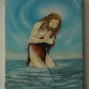 John The Baptist - Original Oil Painting