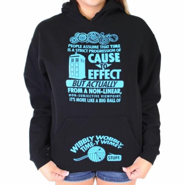 Doctor who hoodies