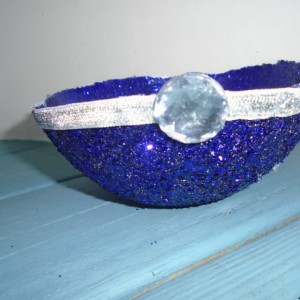 Purple sparkling bowl