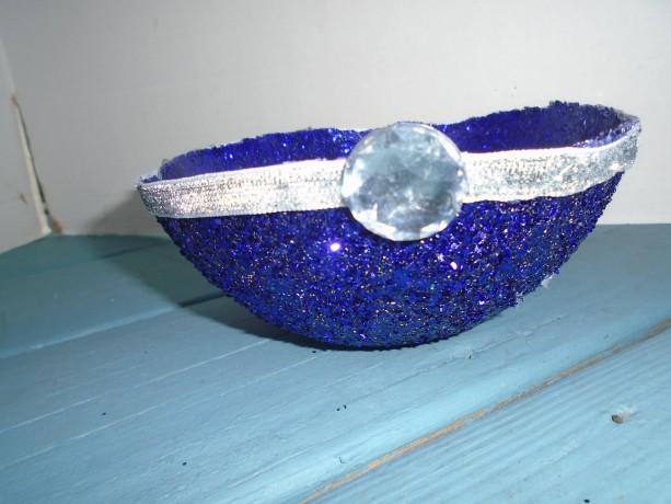 Purple sparkling bowl