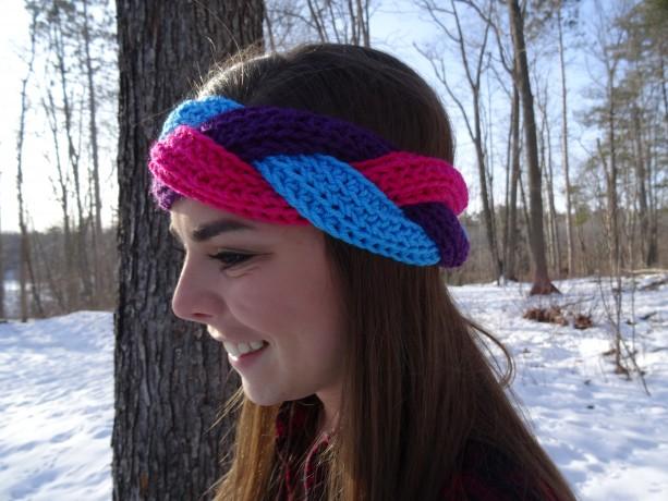 Braided Crochet Headband