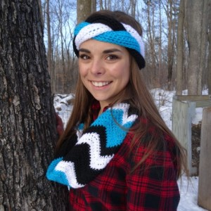 Crochet Braided Headband