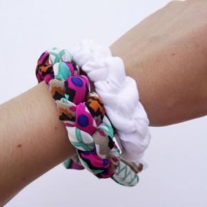 Aztec Chunky Bracelet Stack Set