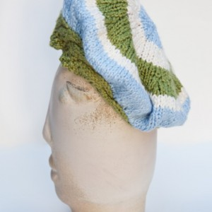 Hand Knit Cute and Flirty Beret