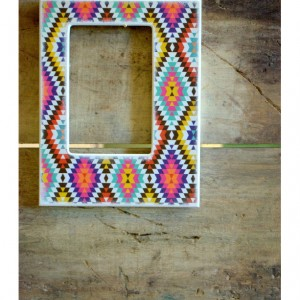 Turkish Carpet 4 x 6 Picture Frame - Turkish Picture Frame