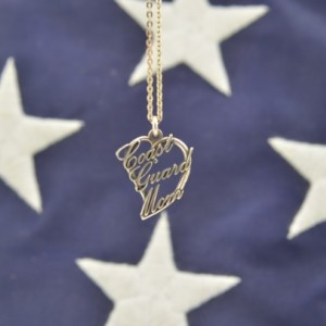 Coast Guard Mom Pendant