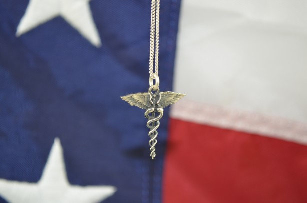 Medical Caduseus Pendant