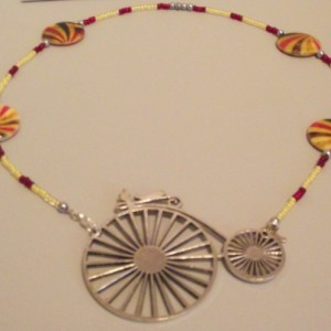 Big Bicycle Necklace