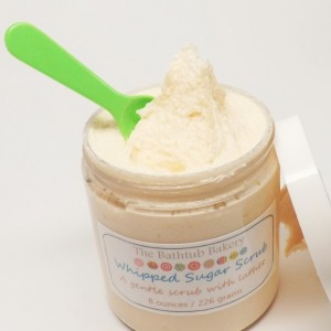 Angel Food Cake  8 oz Whipped Sugar Scrub Body Paraben Free